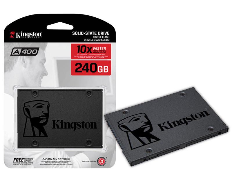 SSD Kingston A400 240GB 2.5 SATA III 6GB/S